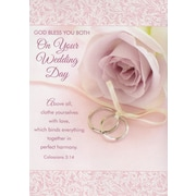 Greeting Cards, God Bless You Both On Your Wedding Day, 18/Pack