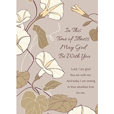 Greeting Cards, In This Time of Illness May God Be With You, 18/Pack
