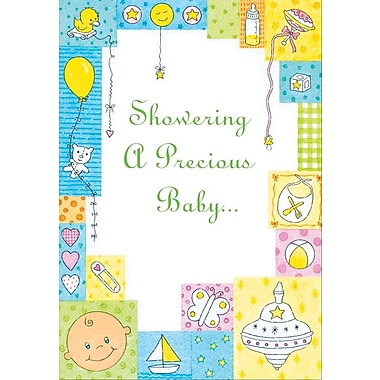 Invitation Cards, Baby Showers, 48 Notelet Cards