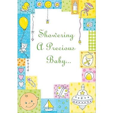 Cartes d'invitation, fêtes prénatales, 12/paquet