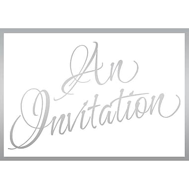 Invitation Cards, An Invitation, 48 Notelet Cards