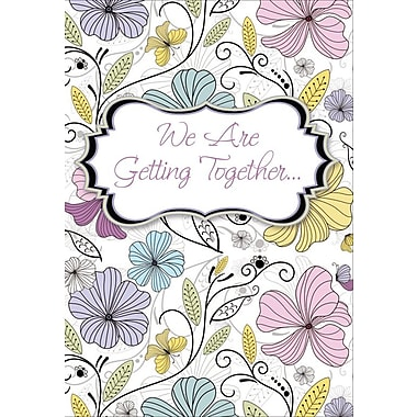 Invitation Cards, We Are Getting Together, 48 Notelet Cards