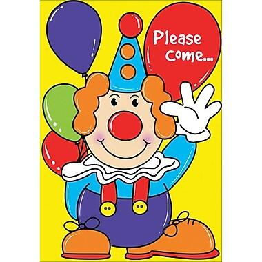 Cartes d'invitation, Please Come…Party, 12/paquet