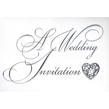 Invitation Cards, A Wedding Invitation, 48 Notelet Cards
