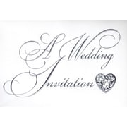 Cartes d'invitation, A Wedding Invitation, 12/paquet