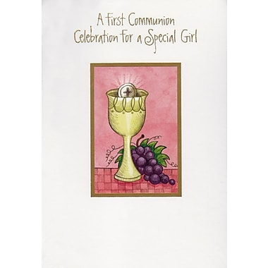 Cartes d'invitation, A First Communion Celebration For A Special Girl, 12/paquet