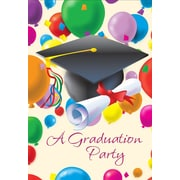 Cartes d'invitation, A Graduation Party, 12/paquet