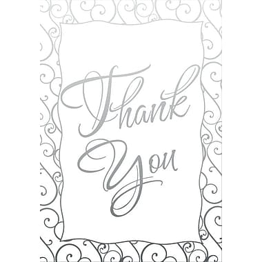 Thank You Cards, With Appreciation, 48 Notelet Cards