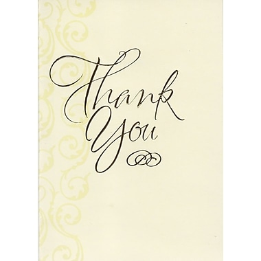 Thank You Cards, Warmest Thanks, 48 Notelet Cards