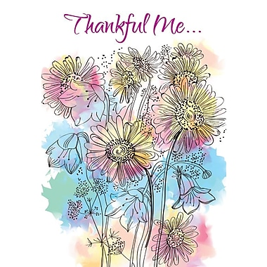 Thank You Cards, Thankful Me..., 48 Notelet Cards