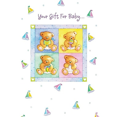Cartes de remerciement, Your Gift For Baby, 12/paquet