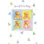 Cartes de remerciement, Your Gift For Baby, 12/paquet