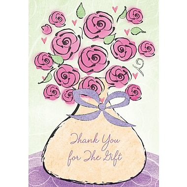 Thank You Cards, Thank You For The Gift, 48 Notelet Cards