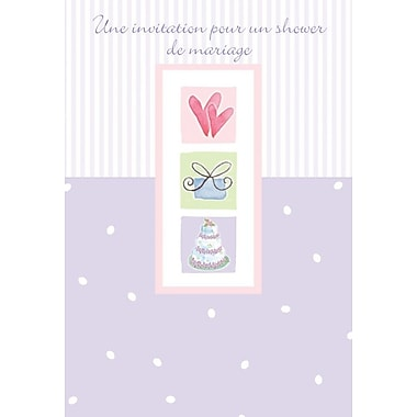 Invitation Cards, Une invitation pour un shower de mariage, 48 Notelet Cards