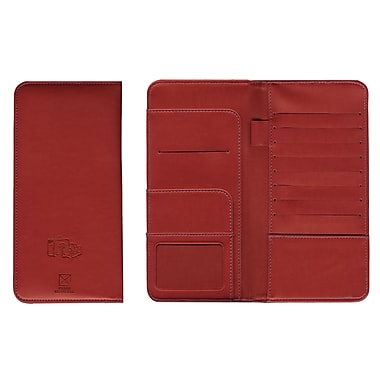 Pierre Belvedere Travel Wallet, Red