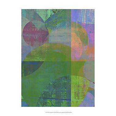 Evive Designs Pastel Quadrants II by Ricki Mountain Painting Print