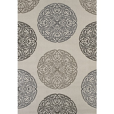 United Weavers of America Townshend Cream Gaze Rug; 5'3'' x 7'6''