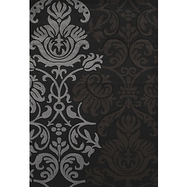 United Weavers of America Townshend Black Replay Rug; 5'3'' x 7'6''