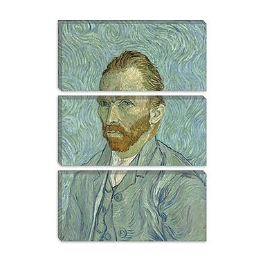 iCanvas 'Self Portrait, 1889' by Vincent Van Gogh Painting Print on Wrapped Canvas