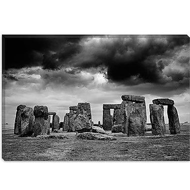 iCanvas 'Stonehenge, England 89' by Monte Nagler Photographic Print on Wrapped Canvas