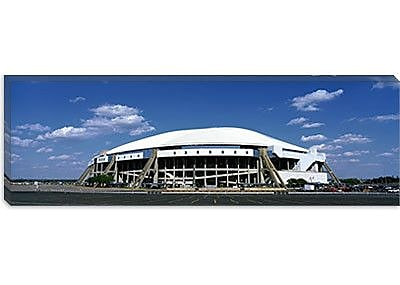 iCanvas Panoramic Texas Stadium Photographic Print on Wrapped Canvas; 12'' H x 36'' W x 1.5'' D