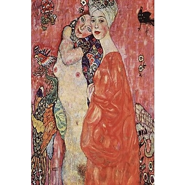 iCanvas 'Women Friends 1916-1917' by Gustav Klimt Painting Print on Wrapped Canvas