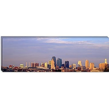 iCanvas Panoramic 'Skyscrapers in a City, Kansas City, Missouri' Photographic Print on Canvas