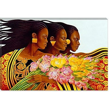 iCanvas ''Three Sisters'' by Keith Mallett Graphic Art on Canvas; 18'' H x 26'' W x 1.5'' D
