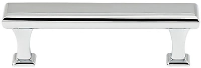 Alno Manhattan 3'' Center Bar Pull; Polished Chrome