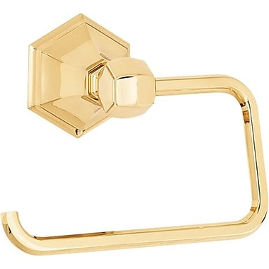 Alno Nicole Wall Mounted Single Post Toilet Paper Holder; Polished Nickel