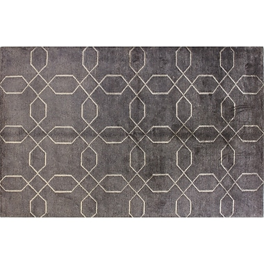 Bashian Rugs Sussex Pewter Rug; 3'9'' x 5'9''