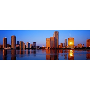 iCanvas Panoramic Sunrise, Miami, Florida Photographic Print on Wrapped Canvas