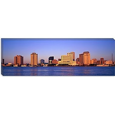 iCanvas Panoramic Sunrise, Skyline, New Orleans, Louisiana Photographic Print on Wrapped Canvas