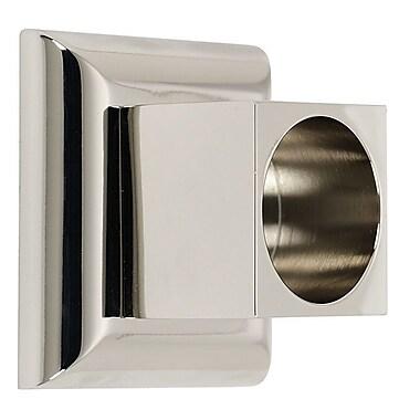 Alno Manhattan Shower Rod Brackets (Set of 2); Polished Nickel