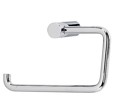 Alno SPA 1 Wall Mounted Single Post Toilet Paper Holder; Polished Chrome