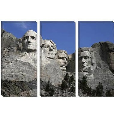 iCanvas Political Mount Rushmore Photographic Print on Canvas; 40'' H x 60'' W x 1.5'' D