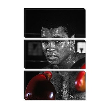 iCanvas Muhammad Ali on Canvas; 12'' H x 8'' W x 0.75'' D