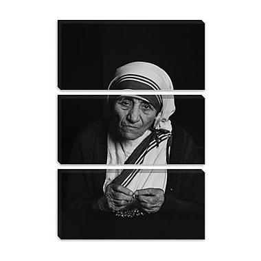 iCanvas Christian Mother Teresa Photographic Print on Canvas; 60'' H x 40'' W x 1.5'' D