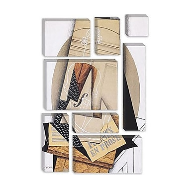 iCanvas 'Komposition Mit Violine' by Juan Gris Painting Print on Canvas; 18'' H x 12'' W x 1.5'' D
