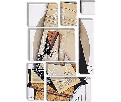 iCanvas 'Komposition Mit Violine' by Juan Gris Painting Print on Canvas; 18'' H x 12'' W x 0.75'' D