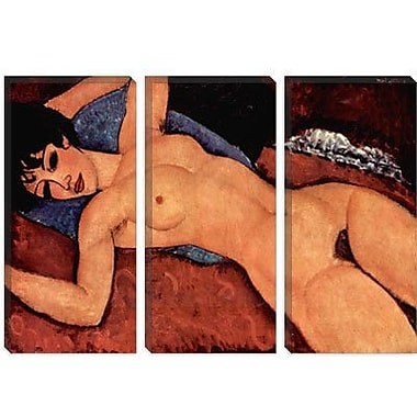iCanvas 'Nudo Sdraiato' by Amedeo Modigliani Painting Print on Canvas; 26'' H x 40'' W x 1.5'' D
