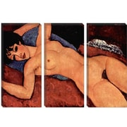 iCanvas 'Nudo Sdraiato' by Amedeo Modigliani Painting Print on Canvas; 26'' H x 40'' W x 0.75'' D