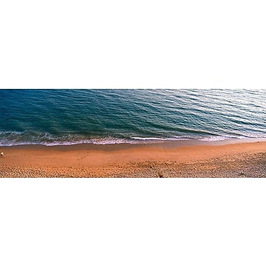 iCanvas Panoramic Surf the Algarve Portugal Photographic Print on Wrapped Canvas