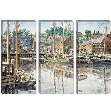 iCanvas 'Old Gloucester' by Stanton Manolakas Painting Print on Canvas; 26'' H x 40'' W x 1.5'' D
