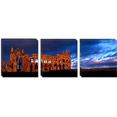 iCanvas Panoramic Whitby Abbey, North Yorkshire, England Photographic Print on Canvas