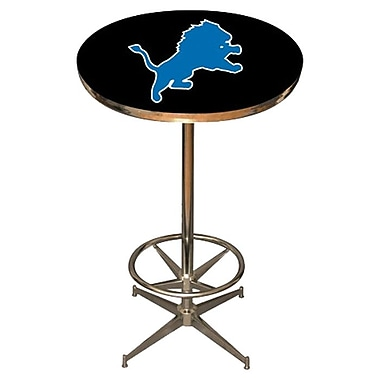 Imperial NFL Pub Table; Detroit Lions