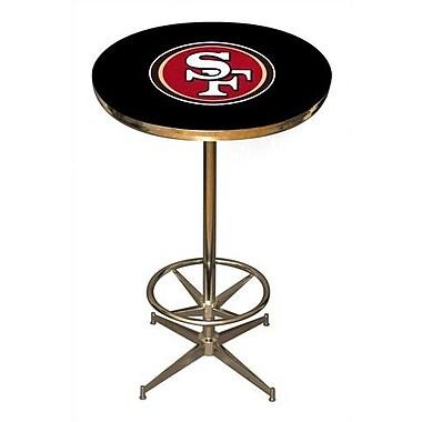 Imperial NFL Pub Table; San Francisco 49ers