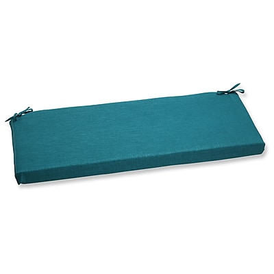 Pillow Perfect Rave Outdoor Bench Cushion; Teal