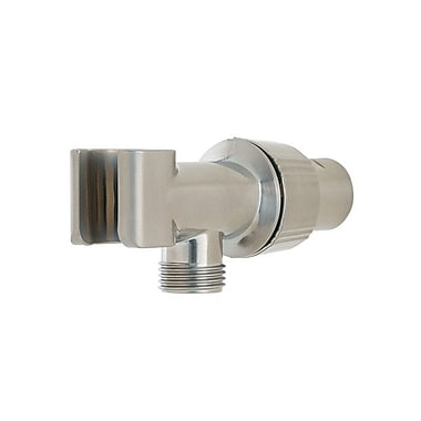 Pfister Adjustable Shower Arm Mount; Brushed Nickel
