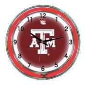 Wave 7 NCAA 18'' Team Neon Wall Clock; Texas A&M